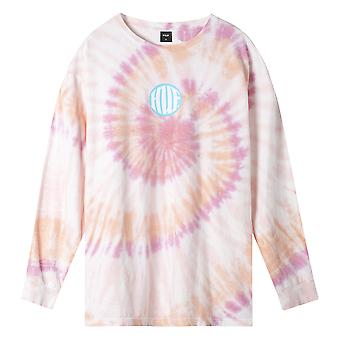 Huf High Definition L/S T-Shirt - Coral Pink