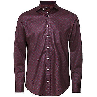 Hackett Slim Fit Paisley skjorte