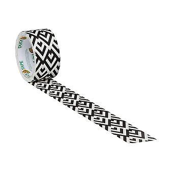 Shurtape Duck Tape® 48mm x 9.1m Black/White Diamond