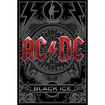 AC / DC ملصق الجليد الأسود
