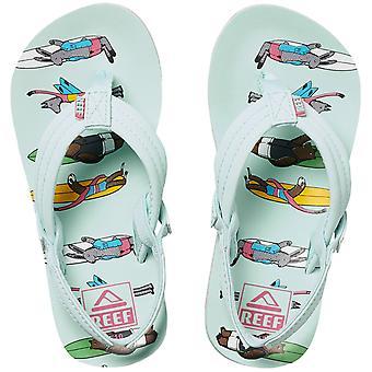 Reef Kids Baby's Jonas Claesson LIL Summer Flip Flops Thongs Sandals - Vrienden