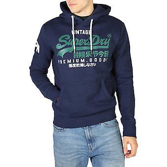 Superdry - m2010494a - sweat-shirt à capuche fixe pour hommes
