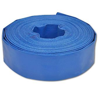 Water flat hose 25 m 2 inch PVC
