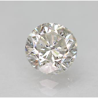 Certified 1.57 Carat E VS1 Round Brilliant Enhanced Natural Loose Diamond 6.88mm