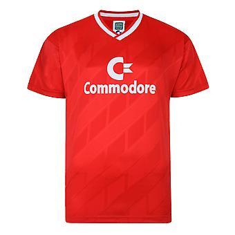Puntuación Draw Bayern Commodore 1986 Trikot Retro Football Shirt