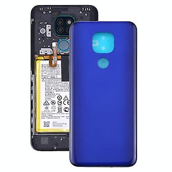 Battery Back Cover for Motorola Moto G9 Play / Moto G9 (India) (Purple)