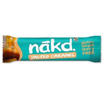 Bar à caramel salé Nakd 35g x18