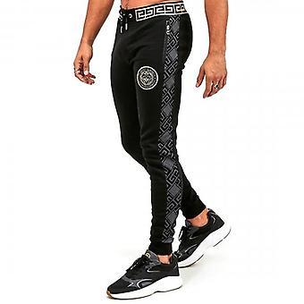 Glorious Gangsta Dinas Black Logo Jogger Bottoms