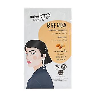 Brenda Cream ansiktsmask - mandeltorr hud - 01 10 ml grädde (Mandel)