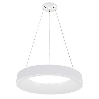 Moderne LED hangende hanger wit, warm wit 3000k 4400lm
