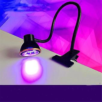 Plug Wavelength Ultraviolet Uf Nail Dryer Led Uv Glue Curing Lamp Green Oil