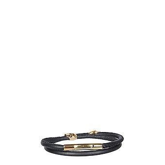 Northskull Stlryg2198blk Men's Black Leather Bracelet
