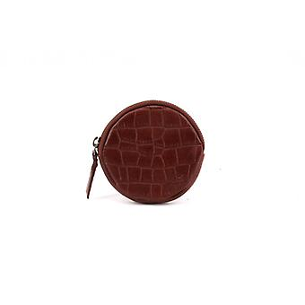 Le Discret (M) - Cognac - Croco Leather