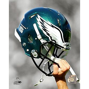 Philadelphia Eagles kypärä Spotlight Photo Print