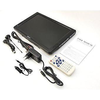 Led Tv 14,1 hüvelykes hordozható kijelző digitális lejátszó DVB-t2 Atsc - Autó kiegészítők