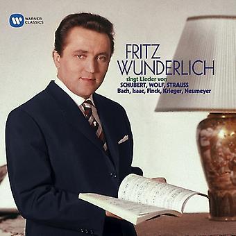 Fritz Wunderlich - Schubert Strass Wolf: Lieder [CD] USA import