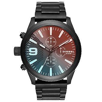 Diesel DZ4447 Rasp Kronografi Musta Ombre Dial Men's Watch