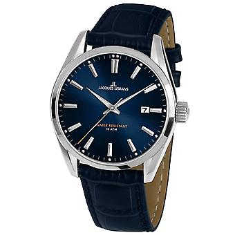 Mens Watch Jacques Lemans 1-1859C, Quartz, 42mm, 10ATM