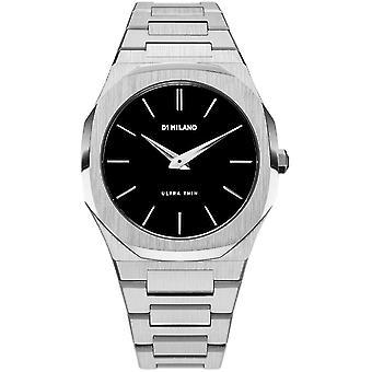 Reloj de las damas D1 Milano WGBU01, cuarzo, 40 mm, 5ATM