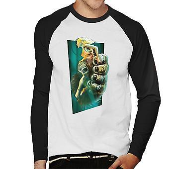 King Kong Holding Ann Darrow Men's Baseball camiseta de manga larga