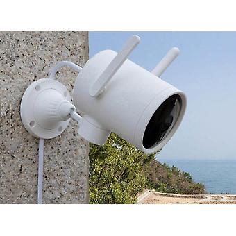 Kamera Udendørs vandtæt med 270 vinkel, 1080p trådløs wifi, nattesyn