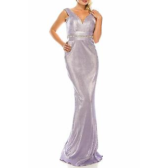 Sleeveless Sheath Evening Gown