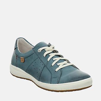 Caren 01 azur - josef seibel blue ladies trainers