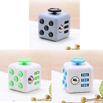 Perinteinen lelu Gyro Adult Cube Vinyyli työpöytä sormi puristaa hauskaa stressin lievittäjä