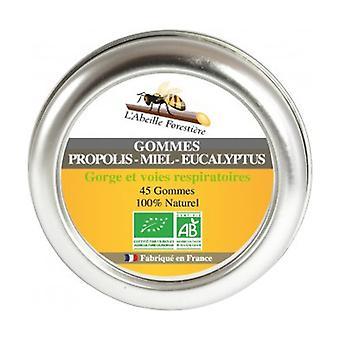 Organic Propolis Honey Eucalyptus Gums 45 g