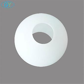 White Globe Glass Lamp Shade E27 E14 Milky Glass Lampshade Part For Chandelier