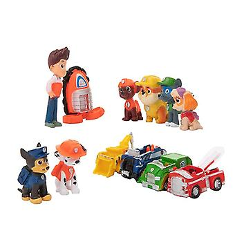 Dogs Rescue Puppy Patrol Vehicle Ryder Anime Action Figures Model Car