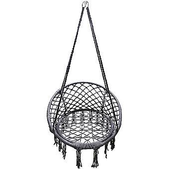 Hängande stol grå - storks bofåtölj - 80x60 cm