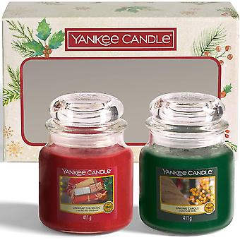 Yankee candle 2 medium jar candle gift set