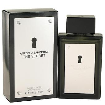 De geheime Eau De Toilette Spray door Antonio Banderas 3.4 oz Eau De Toilette Spray