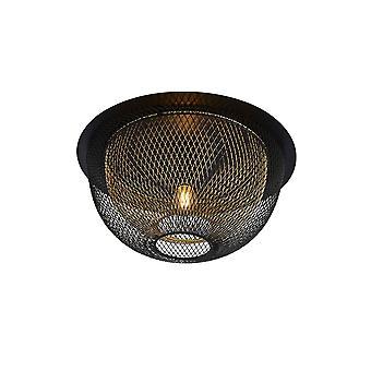 Searchlight Honeycomb 1 kevyt kaksikerroksinen verkkohuuhtelu - musta ulkokerros, jossa kultainen sisäosa