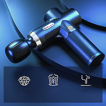 2021 New Design Mini Muscle Massage Gun Electric Muscle Massage Gun Pocket Neck Body Massager Pain Relief 3Gear Massager