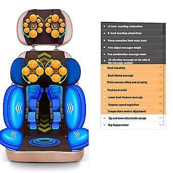 Pełne ciało elektryczne wibracyjny masaż poduszka szyi szyi z powrotem talia biodra ogrzewanie nogi masaż mięśni stymulator masaż chai