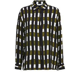 Masai klær Ibilla Sjekk Print Skjorte