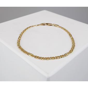Christian goud valkenoog armband