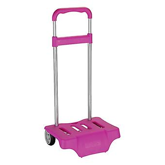 Backpack Trolley Safta Fuchsia