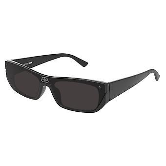 Balenciaga BB0080S 001 Black/Grey Sunglasses