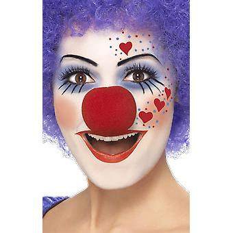 Visage Paint Palette Clown Make Up Fancy Dress