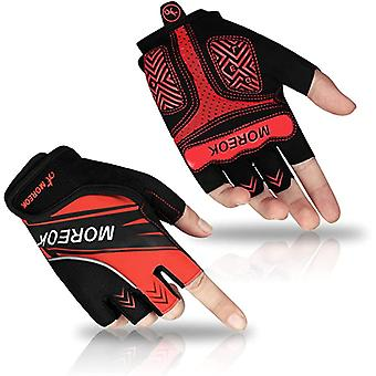 Half Finger Bicycle Cycling Gloves For Men And Women Padded Breathable