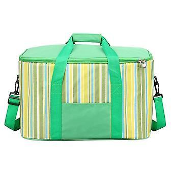 34L stor kapacitet termisk kylare isolerad vattentät lunchmat bärbar tyg picknick hot bag