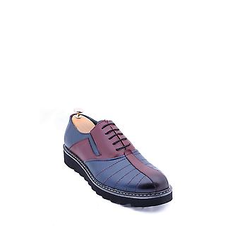 Leather eva sole navy shoes | wessi