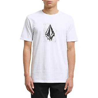 Volcom Drippin Out camiseta de manga corta en blanco