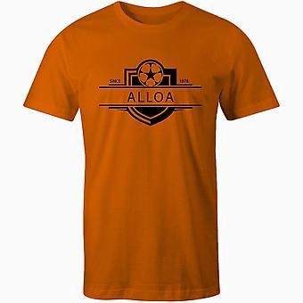Alloa atletische 1878 gevestigde badge kinderen voetbal t-shirt