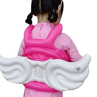 Swimming Ring Angel Wings Rubber Ring Inflatable Vest Buoyancy Suit Swimming Circle