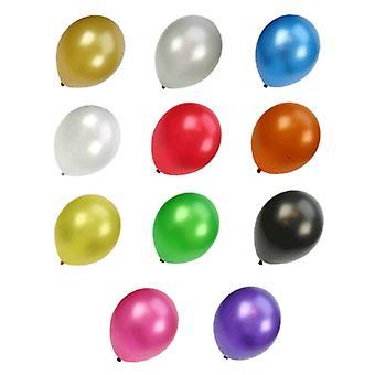 Metallic Ballonnen, 100St.