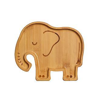Sass &Belle Elephant Bamboo Plate